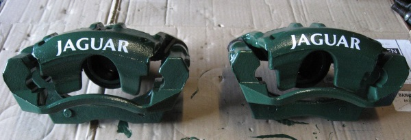 Caggers Parts Jaguar X-Type Green Front Calipers