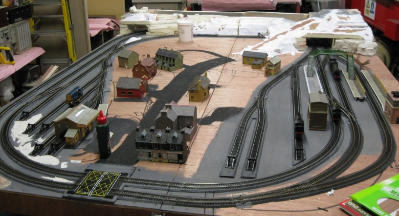 Caggers Parts builds a Model Railway